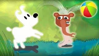 Новые приключения собачки Мимпи. #10. Музыкальный уровень и НогаСлон. MIMPI мультик игра для детей