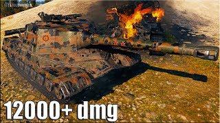 Шикарная позиция для пт Объект 268 🌟 12000+ dmg 🌟  World of Tanks максимальный урон