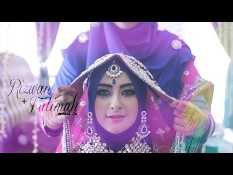 Video INDIAN MUSLIM WEDDING (Kuala Lumpur, MALAYSIA) : Rizwan + Fatimah // Reception by NEXT ART