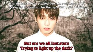 Duet with Jungkook (Karaoke) - Lost Stars orig. Adam Levine (Instrumental & Lyrics)