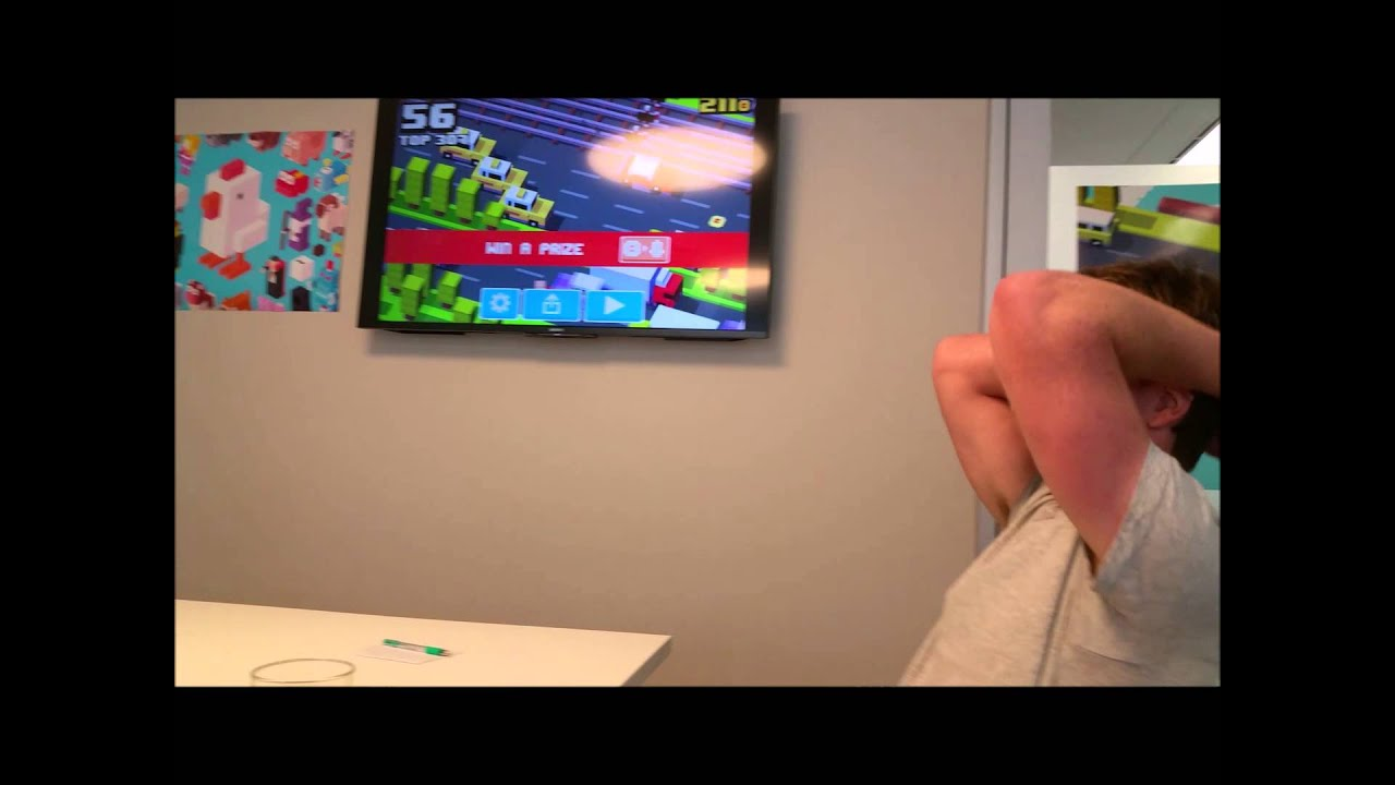 This Is What Mark Serrels Losing At Crossy Road Looks Like