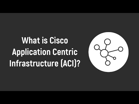 What is Cisco Application Centric Infrastructure (ACI)? Cisco ACI ...