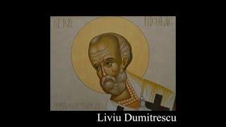 Icoana Sfantul Nicolae-etape pictura portret