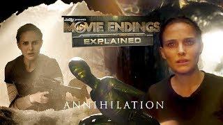 ANNIHILATION   Movie Endings Explained (2018) Natalie Portman