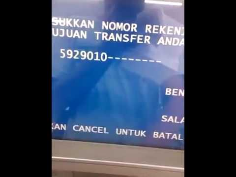 CARA TRANSFER ATM BRI KE BRI