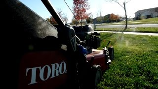 Last Lawn Mowing Of The Year