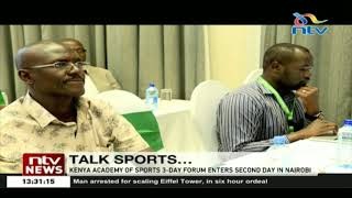 Kenya Academy of sports 3-day forum enters second day in Nairobi