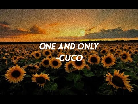 ♡ One And Only- Cuco (lyrics) ♡