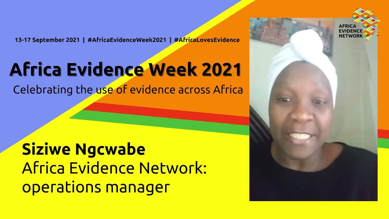 Africa Evidence Week 2021: Let the celebration begin!