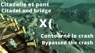 Bypassed the crash between the Citadel and the bridge
