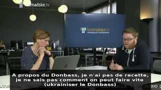 TV Ukraine - Propositions de génocide (Donbass gens inutiles)