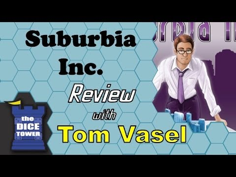 Dice Tower Reviews: Suburbia Inc