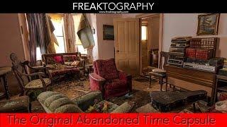 Urban Exploration: The ORIGINAL Abandoned Time Capsule House