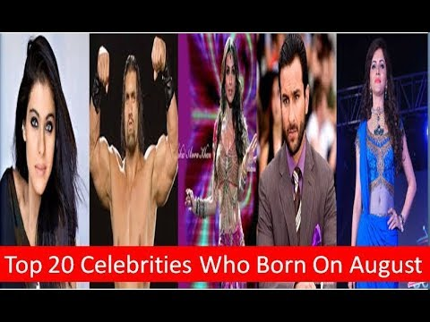 Top 20 Bollywood Celebrities Who Born On August