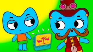 Котики вперёд! - Всё сделаю сам! - Серия 40 - развивающие мультфильмы для детей