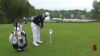 Golf Monthly Putting Challenge - Alex Noren