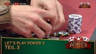 Let's Play Poker #2 - TEIL 3 - Noch 4 Spieler Am Tisch // 29.06.2013 MyVideo Charity-Poker