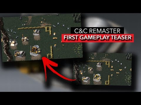 COMMAND AND CONQUER REMASTER - FIRST GAMEPLAY TEASE REVEALED | MAJOR Update [2019]