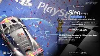 GT Sport FIA Championship Manufacturer Series Season 2 Round 3 Blue Moon Bay  Win / Sieg