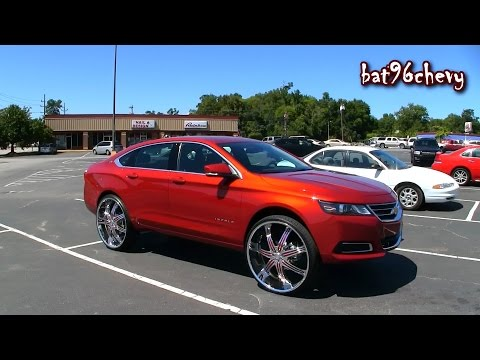 "2014 Chevrolet Impala LT on 28"" Wheels - 1080p HD"