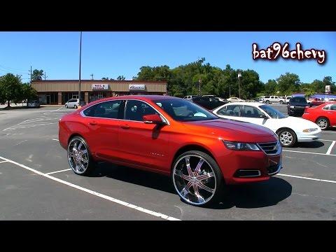 "2014 Chevrolet Impala LT on 28"" Wheels - 1080p HD"