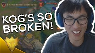 "Doublelift - ""YOU DO SO MUCH DAMAGE!"" ft. Biofrost - League of Legends Funny Stream Moments"