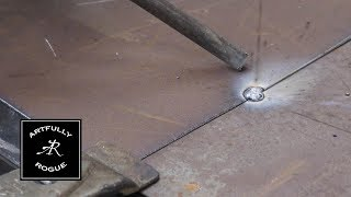 Quick Tip: Spot Welding 22 gauge sheet steel