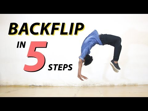 Download Backflip in 5 steps | Learn how to do a backflip | Dance Destination HD Mp4 3GP Video and MP3