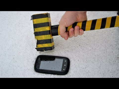 EXPERIMENT 6KG HAMMER vs INDESTRUCTIBLE MOBILE PHONE
