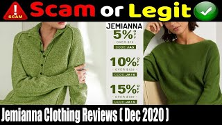 Jemianna Clothing Reviews {December 2020} See - Legit or Another Scam?   Scam Adviser Reports