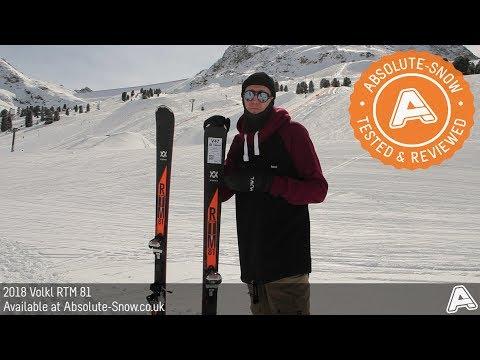 2017 / 2018 | Volkl RTM 81 Skis | Video Review