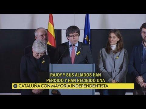 Cataluña con mayoría independentista
