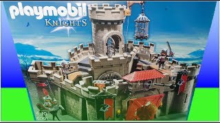 Playmobil  KNIGHTS Castle Set 6001 Unboxing and Full Toy Build instructions