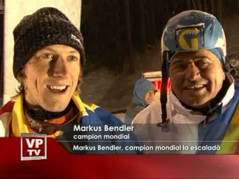 Merkus Bendler, campion mondial la escaladă