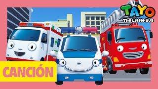 Tayo Canción (El equipo de rescate Ver) l Canciones para niños l Tayo el pequeño Autobús Español