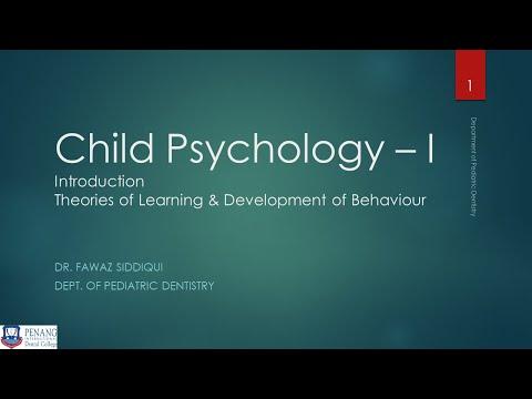 Child Psychology   I