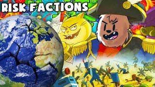 GENERAL BACCA TAKES OVER THE WORLD - RISK FACTIONS BOARD GAME | JeromeASF