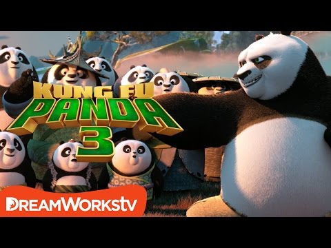 Kung Fu Panda 3 Commercial
