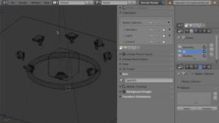Blender 2.8 Development Demo 1 - Render Layers and Collections Teaser