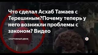 БОЙ Кирилла Терешина и Асхаба Тамаева   Терешин извинился перед Тамаевым   Бой Тамаева состоялся