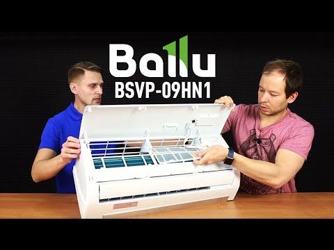 Обзор кондиционера Ballu BSVP-09HN1 Vision PRO