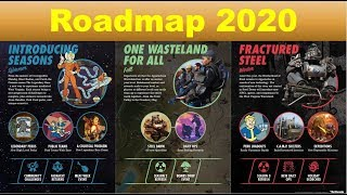 Fallout 76 Roadmap 2020 Explained - Reworked Challenges -  Battlepass Seasons - Brotherhood of Steel
