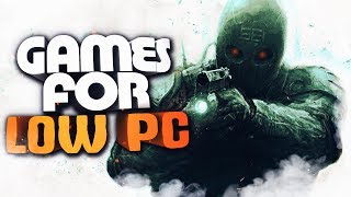TOP 10 Best Games for LOW PC | SHOOTER GAMES