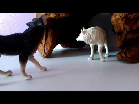 wolf pack movie ep.2   @schleich #wolves #kristina kashytska #wolf toys