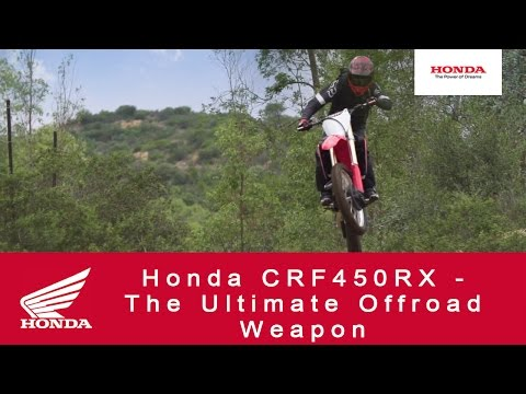 2018 Honda CRF450RX in Missoula, Montana - Video 1