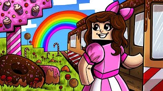 Minecraft: WE FOUND CANDY LAND!!