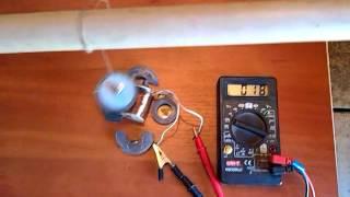 Халявная электроэнергия своими руками видео