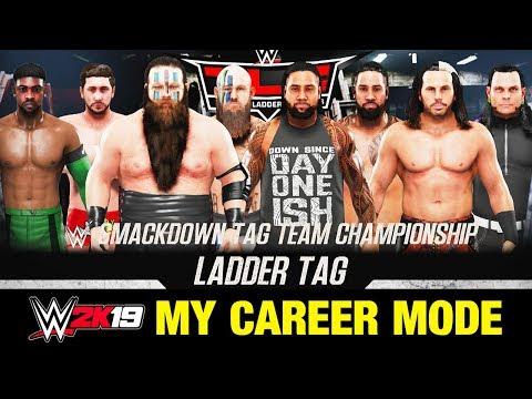 FATAL 4-WAY TAG LADDER MATCH!!   WWE 2K19 MyCareer Ep #59