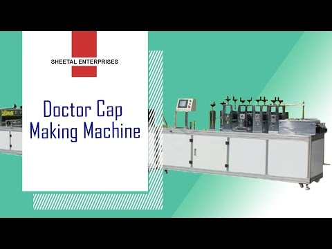 Ultrasonic Doctor Cap Machine