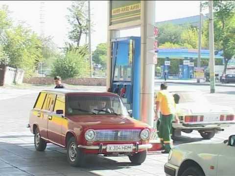 Wie das Benzin logan zusammenzuziehen